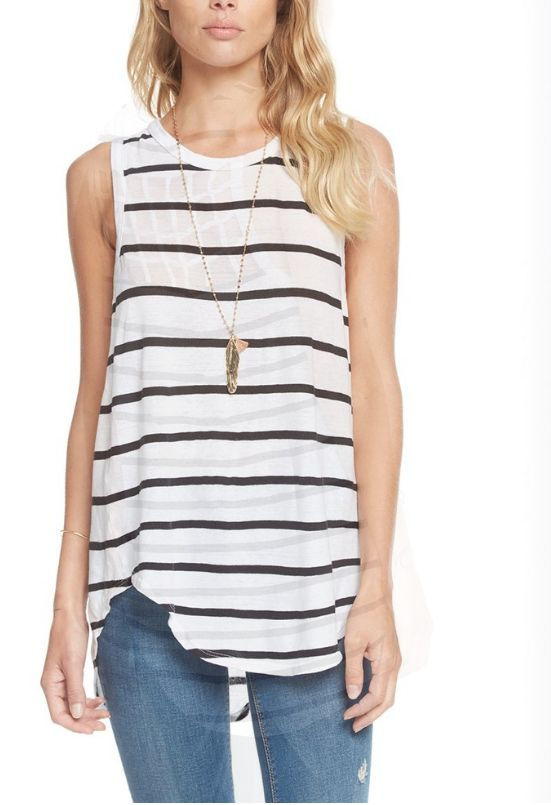 Chaser Striped Tank