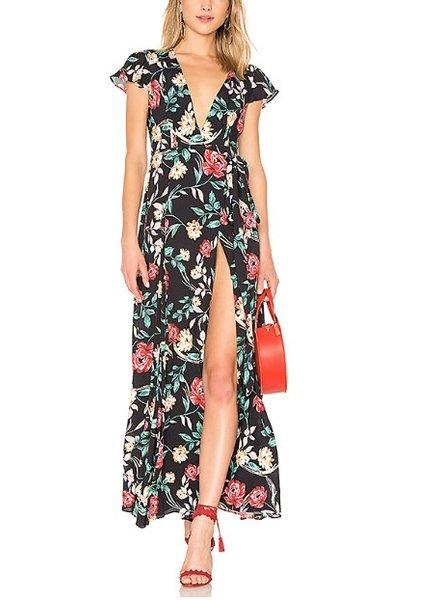 Lovers + Friends Floral Maxi Dress