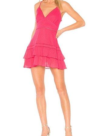 Lovers + Friends Pink Mini Dress