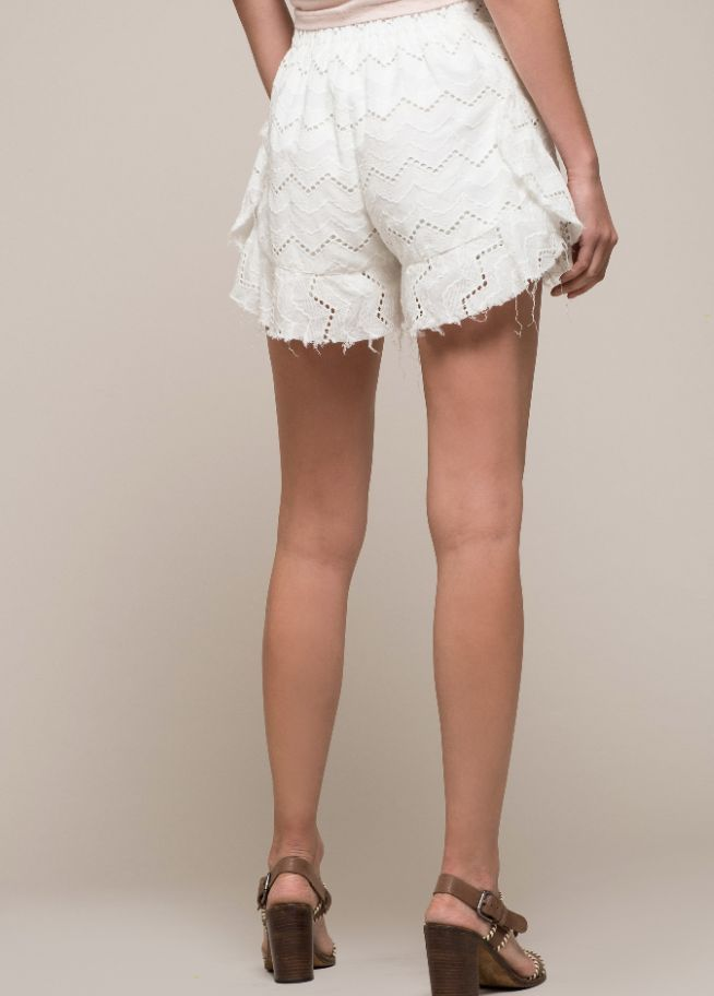 Eyelet Shorts