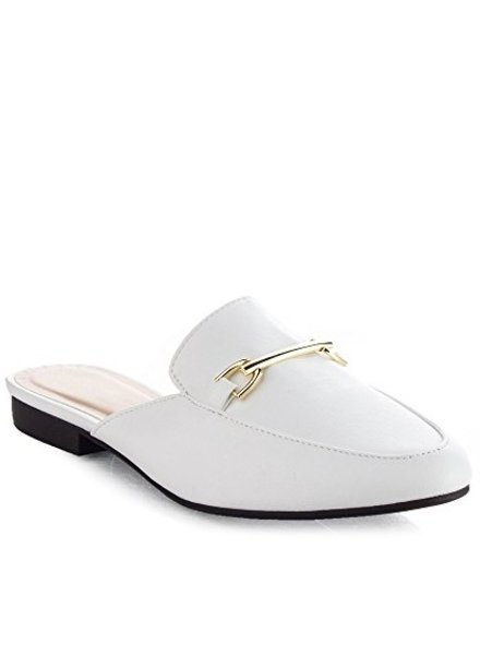 White Loafer