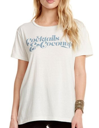 Chaser Cocktails & Coconuts Tee