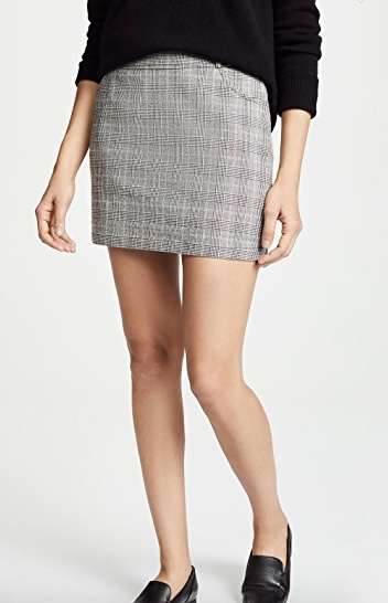 BB Dakota Plaid Skirt