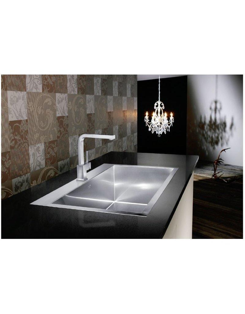 ... Blanco Blanco 400381 Precision Microedge Super Single Le Sink 32X20 ...