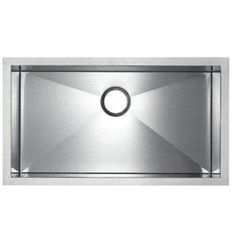 Blanco Blanco 400387 Precision MicroEdge Super Single Topmount Kitchen Sink