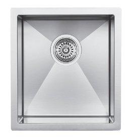 Blanco Blanco 400430 Radius 10 U Sml Bar Steelart Sink 15X18
