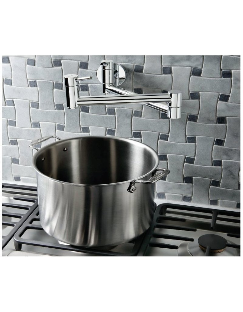 blanco blanco cantata ii pot filler stainless