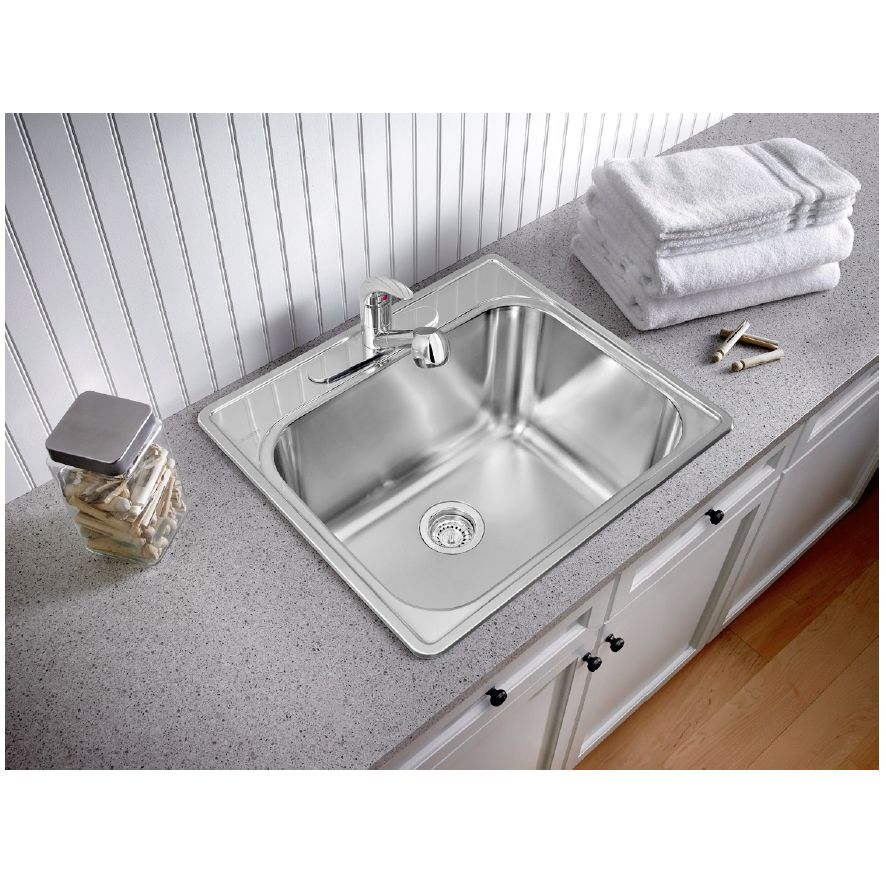 Blanco Blanco 401201 Essential Single Hole Drop In Utility Sink