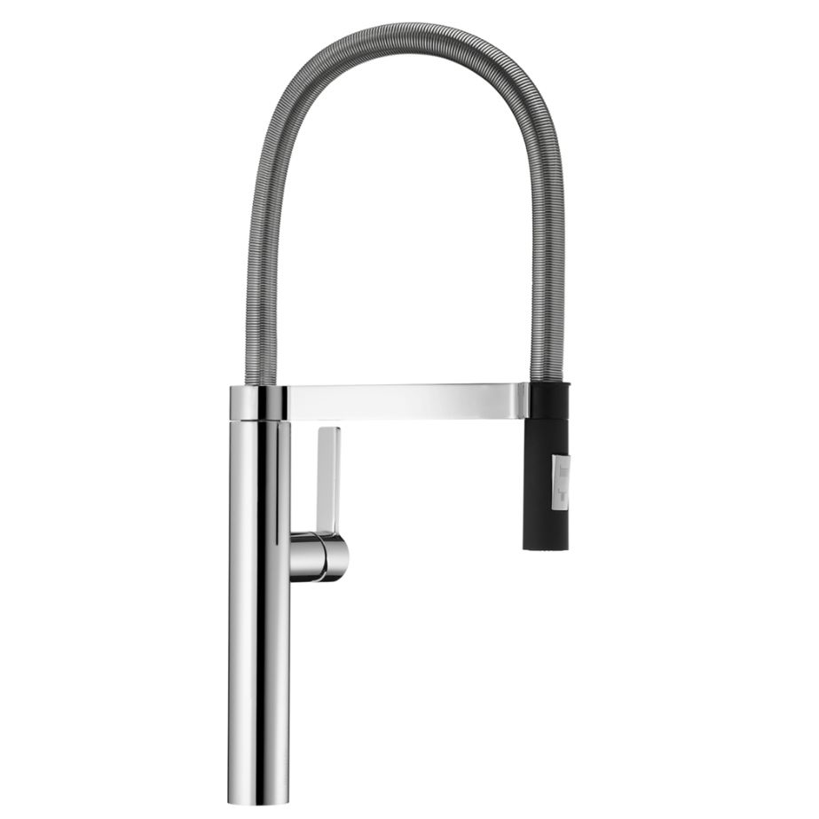 elkay deck down pull mount shop faucet explore kitchen chrome handle pd