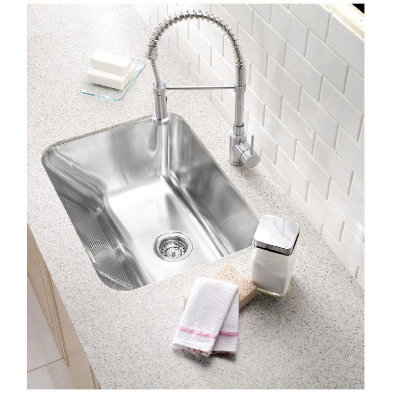 ... Blanco Blanco 400779 Practika Single Undermount Utility Sink ...