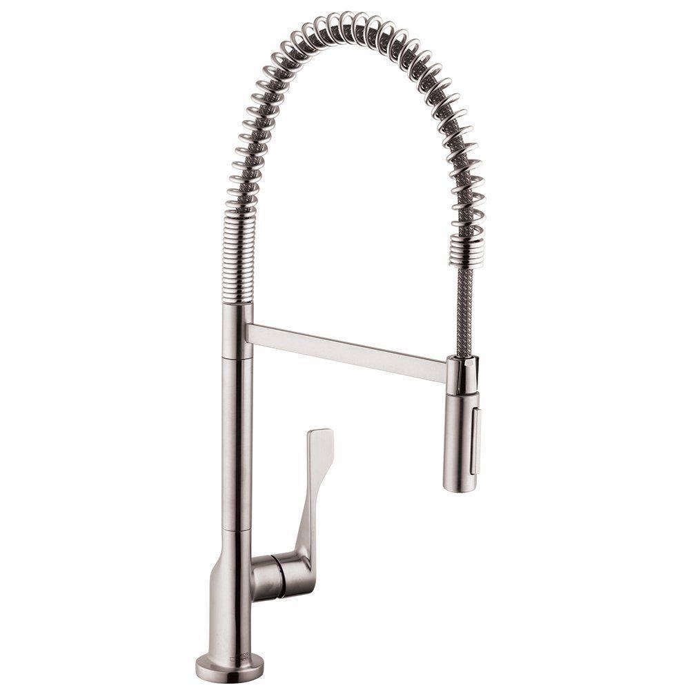 Hansgrohe 39840001 Axor Citterio Semi-Pro Kitchen Faucet - Home ...
