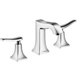 Hansgrohe Hansgrohe 31073001 Metris C Widespread Faucet Chrome