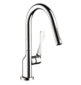 Hansgrohe Hansgrohe 39836001 Axor Citterio Pull Down Prep Kitchen Faucet Chrome