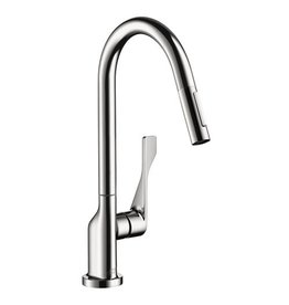 Hansgrohe Hansgrohe 39835001 Axor Citterio Pull Down Kitchen Faucet Chrome