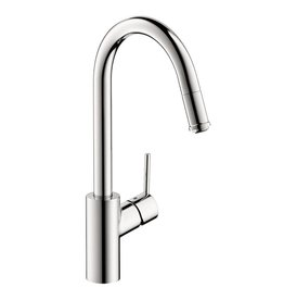 Hansgrohe Hansgrohe 14872001 Talis S Single Hole Kitchen Pull Down 1 Spray Chrome