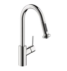 Hansgrohe Hansgrohe 14877001 Talis S Kitchen Faucet With Pull Down 2 Spray Chrome