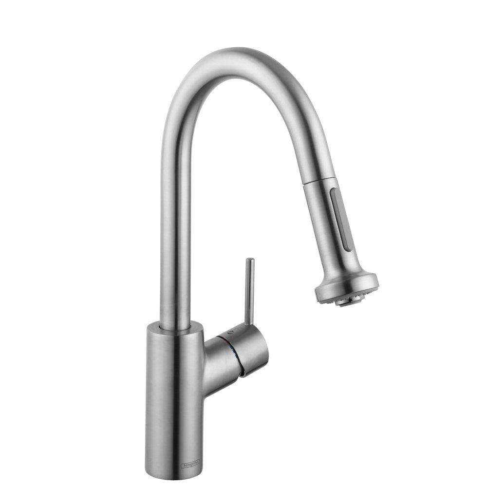 Hansgrohe 4286800 Talis S 2 Prep Kitchen Faucet W/2 Spray Pull ...