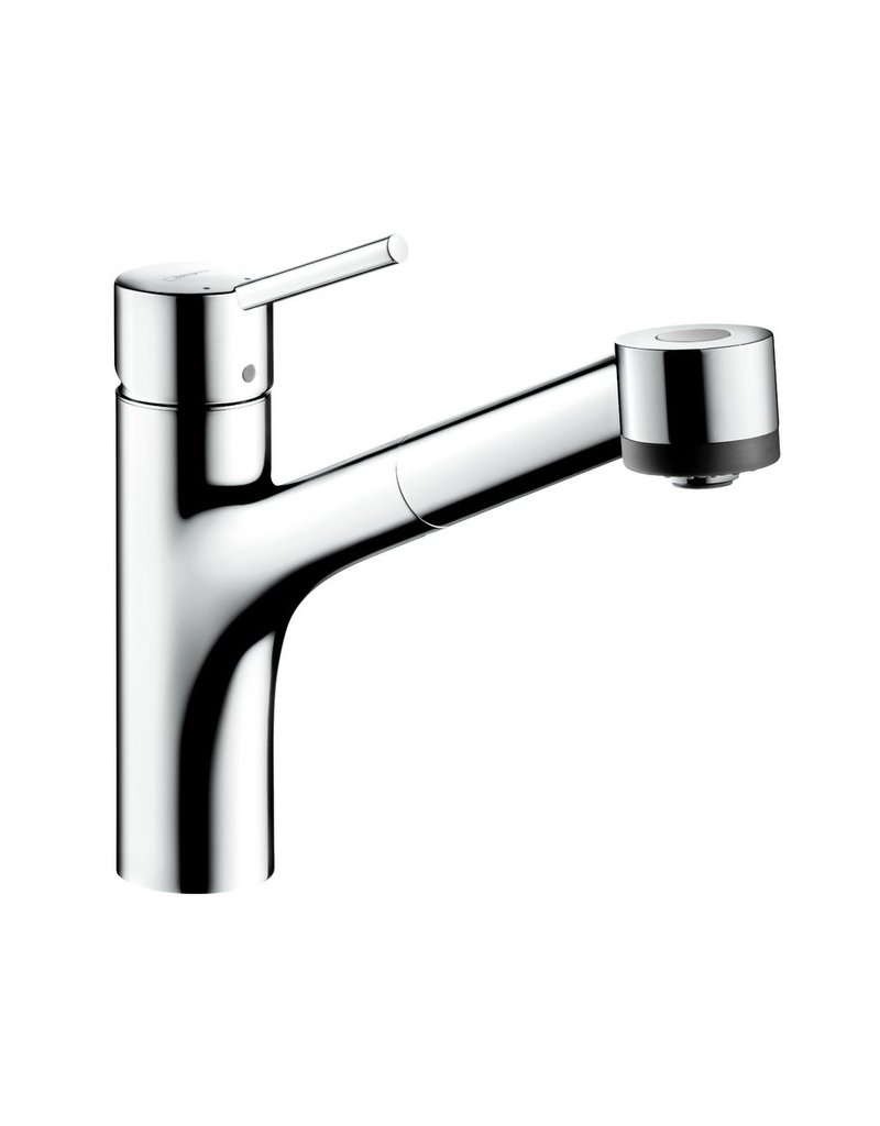 Hansgrohe 06462000 Talis S 2 Spray Kitchen Faucet Pull Out Chrome