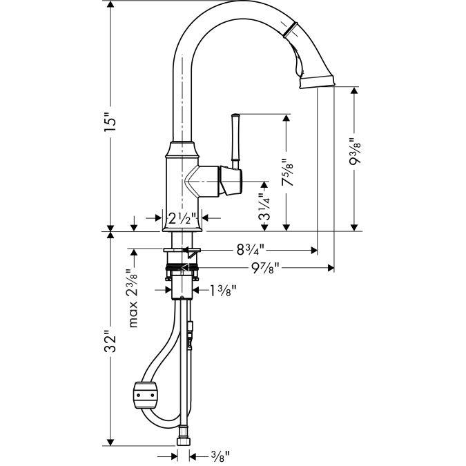 Hansgrohe Talis C Kitchen Faucet Parts