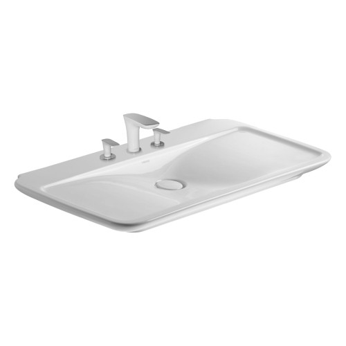 Incroyable Duravit Duravit 03711000001 Furniture Washbasin Puravida Single Hole ...
