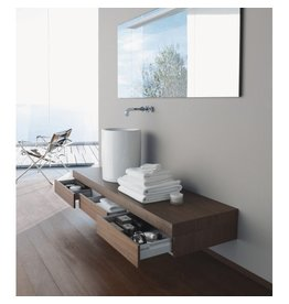 "Duravit Duravit FO8530 Fogo Console With Drawers 21-5/8"" x 59"" American Walnut"
