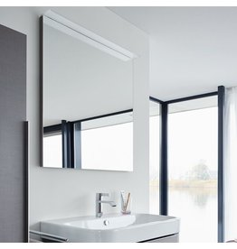 "Duravit Duravit H27294 Happy D.2 31-1/2"" Mirror with Lighting - High Gloss White"