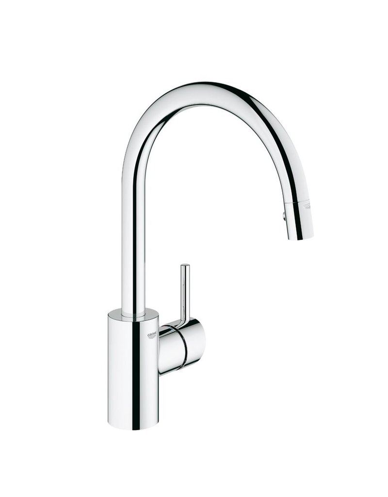 grohe 32665001 concetto dual spray pull down kitchen faucet grohe grohe 32665001 concetto dual spray pull down kitchen faucet chrome