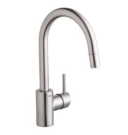 Grohe Grohe 32665DC1 Concetto Dual Spray Pull Down Kitchen Faucet SuperSteel