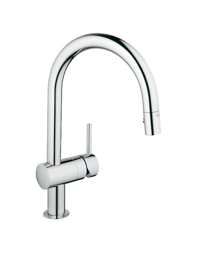 grohe 31378000 minta dual spray down kitchen faucet home comfort grohe grohe 31378000 minta dual spray down kitchen faucet chrome
