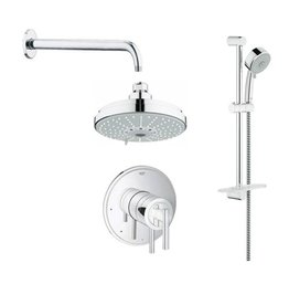 Grohe Grohe 117167 Timeless PBV Dual Function Shower Kit Chrome