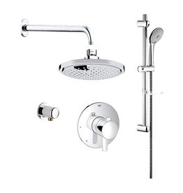Grohe Grohe 117166 Cosmopolitan PBV Dual Function Shower Kit Chrome
