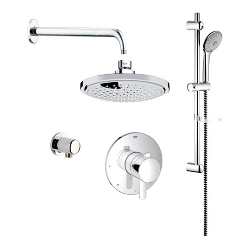 Grohe 117166 Cosmopolitan PBV Dual Function Shower Kit - Home ...