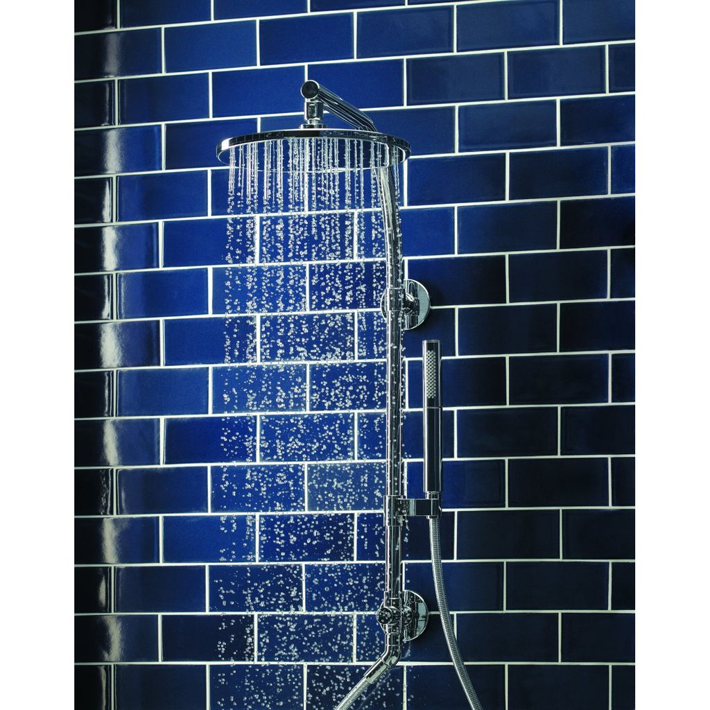 Kohler K45209 HydroRail-R Arch Bath and Shower Column - Chrome ...