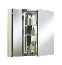 "Kohler Kohler KCBCLC3026FS 30"" W x 26"" H Aluminum Two Door Medicine Cabinet"