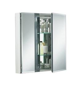 "Kohler Kohler KCBCLC2526FS Double Door 25""W x 26""H x 5""D Aluminum Cabinet"