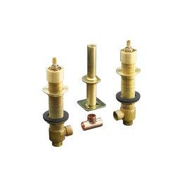 """Kohler Kohler 300-KR 1/2"""" Ceramic High Flow Valve System Ridgid Connections"""