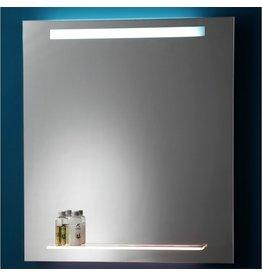 Laloo Laloo M01696 Upper Light and Back Lit Shelf Mirror