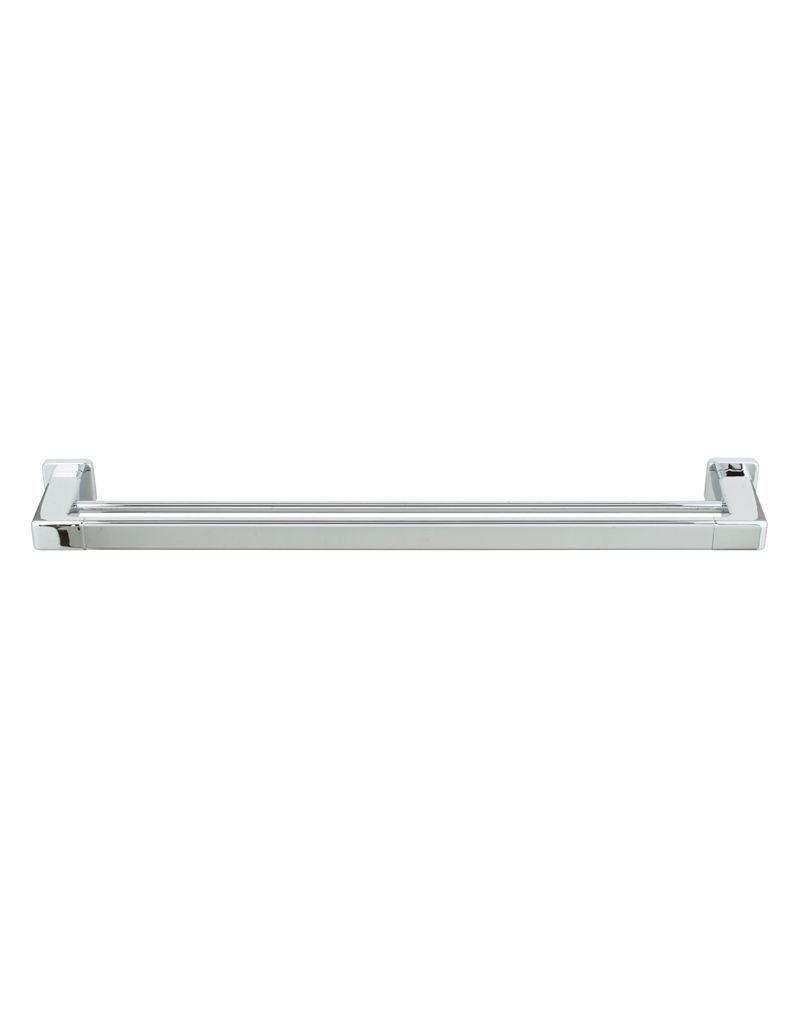 laloo laloo j1830dc jazz extended double towel bar chrome - Double Towel Bar