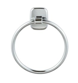 Laloo Laloo CS3780C Classic-S Towel Ring Chrome