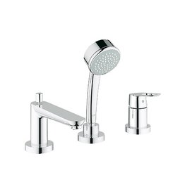 Grohe Grohe 19592000 BauLoop Roman Tub Filler with Handheld Shower Chrome