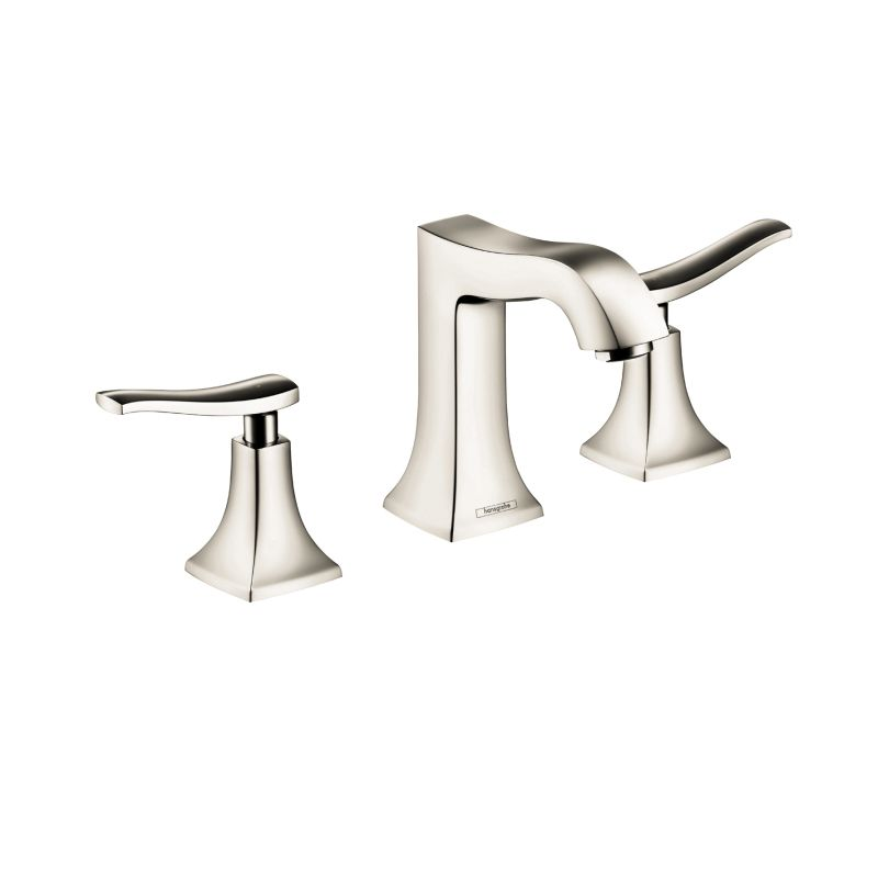 Hansgrohe 31073831 Metris C Widespread Faucet Polished Nickel - Home ...
