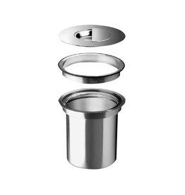 Blanco Blanco 512336 Solon Topmount Waste Bin Stainless Steel