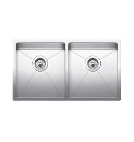 Blanco Blanco 401519 Quatrus R15 U 2 Stainless Steel Double Kitchen Sink