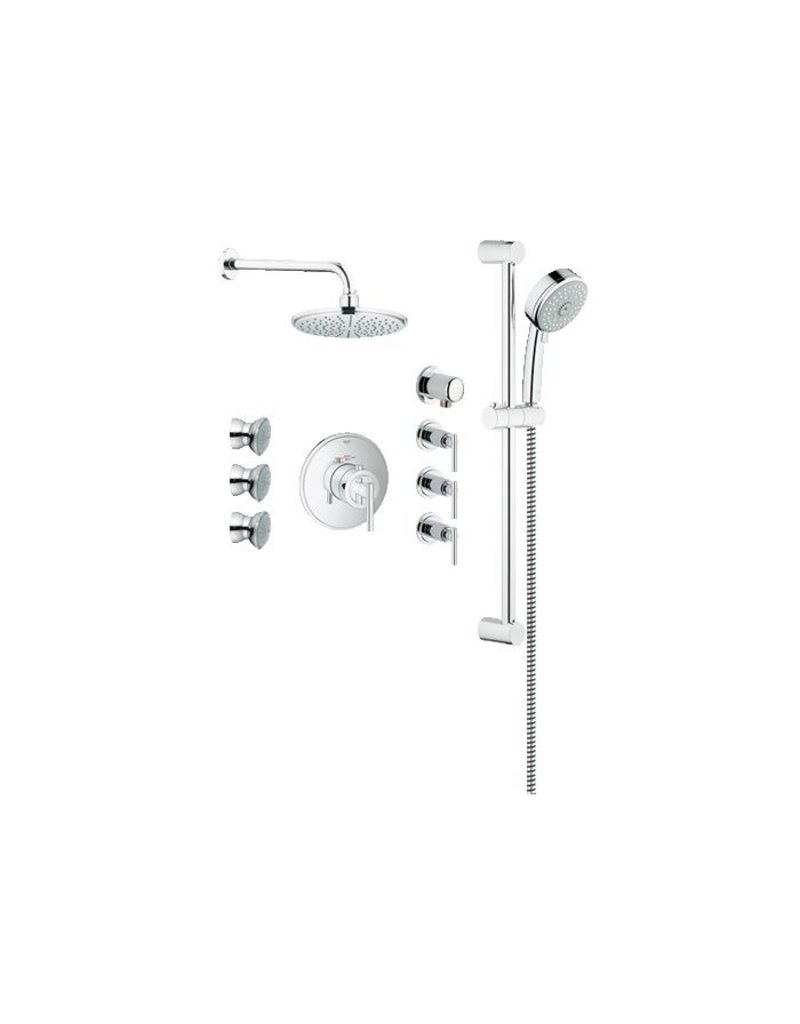 Grohe 117162 Exposed THM Custom Shower Kit - Home Comfort Centre