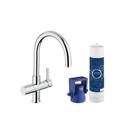 Grohe Grohe 31312001 Blue Pure Dual Function Faucet Chrome