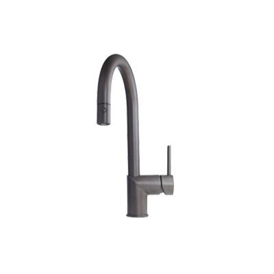 Kindred Gooseneck Pull Down Spray Faucet, Dual Stream - Espresso ...