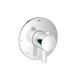 Grohe Grohe 19881000 GrohFlex Cosmopolitan Dual Function Pressure Balance Trim Chrome
