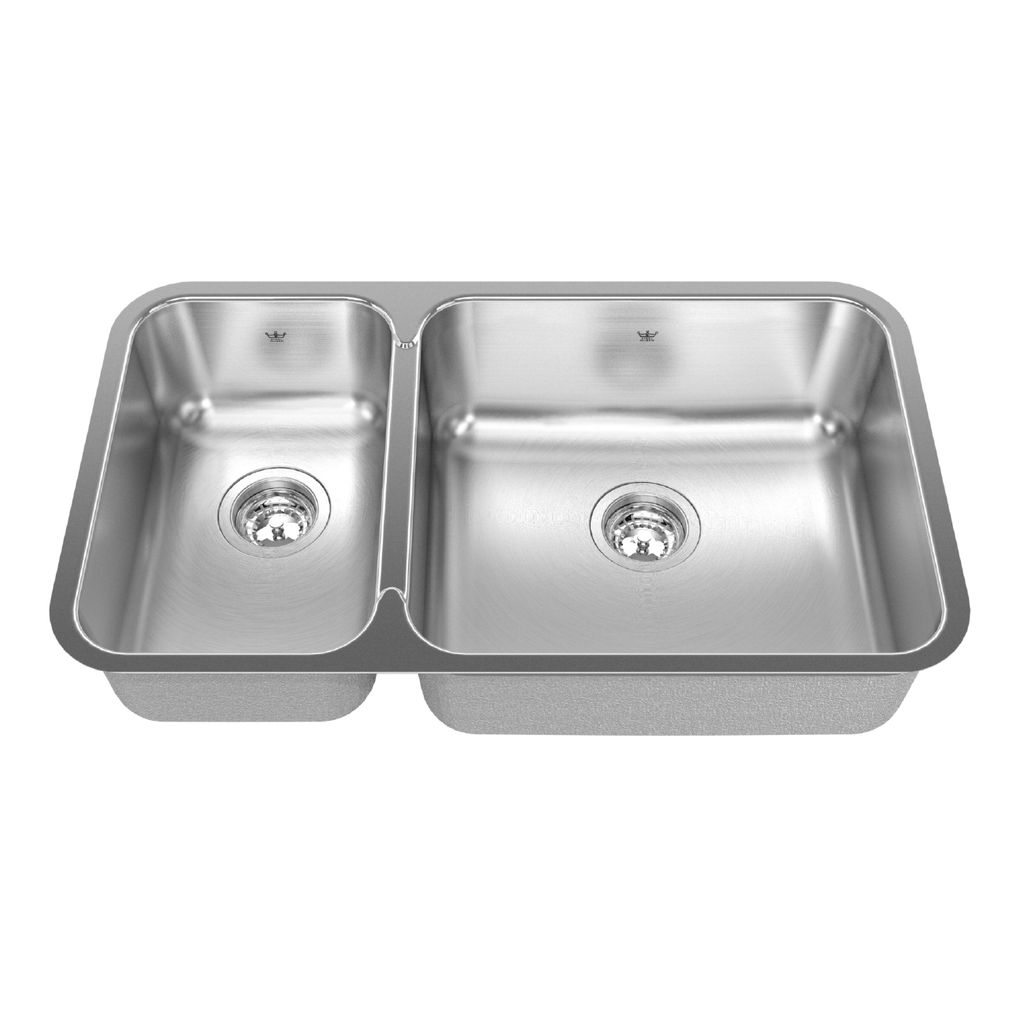 Kindred Steel Queen QCUA1831R/8 Kitchen Sink - Home Comfort Centre