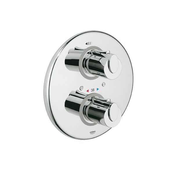 Grohe 19238000 Grohtherm 1000 Thermostatic Shower Valve Chrome ...