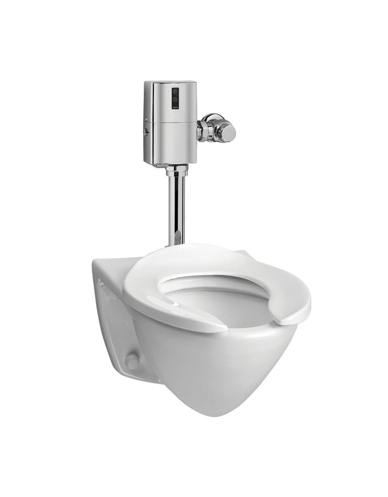 Toto CT708EG Commercial Flushometer Wall Hung Toilet ADA Home